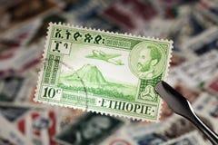 Sello de Etiopía Fotografía de archivo libre de regalías