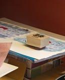 Sello de goma Fotos de archivo libres de regalías