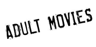 Sello de goma adulto de las películas Imágenes de archivo libres de regalías