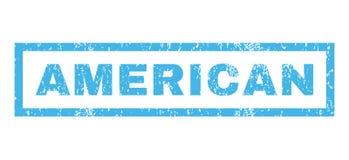 Sello de goma americano Foto de archivo libre de regalías