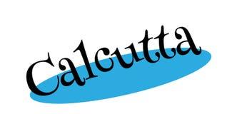 Sello de goma de Calcutta stock de ilustración