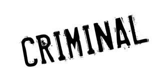Sello de goma criminal libre illustration