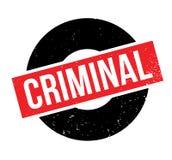 Sello de goma criminal stock de ilustración