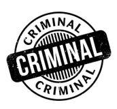 Sello de goma criminal ilustración del vector