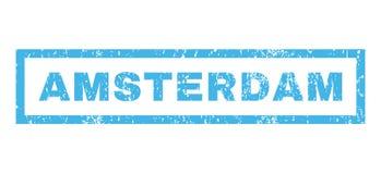 Sello de goma de Amsterdam Fotos de archivo