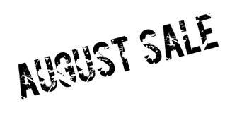 Sello de goma de August Sale Imagen de archivo libre de regalías