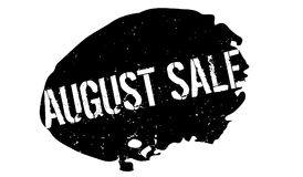 Sello de goma de August Sale Fotos de archivo libres de regalías