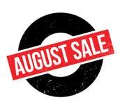 Sello de goma de August Sale Fotografía de archivo libre de regalías