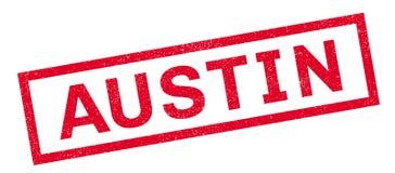 Sello de goma de Austin stock de ilustración