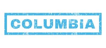 Sello de goma de Columbia Fotografía de archivo libre de regalías