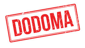 Sello de goma de Dodoma Imagen de archivo