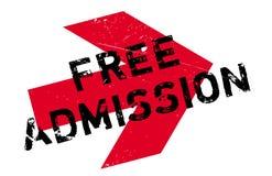 Sello de goma de la admisión libre Fotografía de archivo libre de regalías
