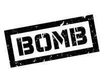 Sello de goma de la bomba Fotos de archivo libres de regalías