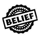 Sello de goma de la creencia libre illustration
