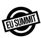Sello de goma de la cumbre del Eu stock de ilustración