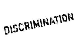 Sello de goma de la discriminación ilustración del vector