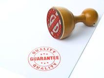 Sello de goma de la garantía Foto de archivo libre de regalías