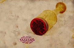 Sello de goma de la vendimia Foto de archivo