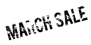 Sello de goma de la venta de marzo Fotografía de archivo libre de regalías