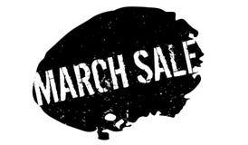 Sello de goma de la venta de marzo Imagen de archivo libre de regalías