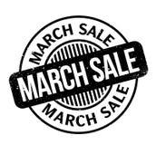 Sello de goma de la venta de marzo Imagen de archivo