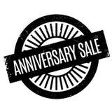 Sello de goma de la venta del aniversario Fotografía de archivo