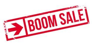 Sello de goma de la venta del auge Imágenes de archivo libres de regalías