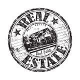 Sello de goma de las propiedades inmobiliarias Imagenes de archivo