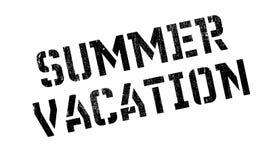 Sello de goma de las vacaciones de verano Fotografía de archivo libre de regalías