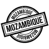 Sello de goma de Mozambique Imagen de archivo libre de regalías