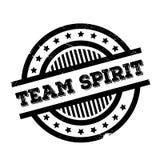 Sello de goma de Team Spirit Fotografía de archivo libre de regalías