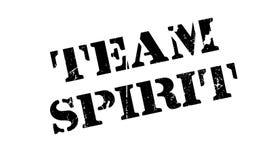 Sello de goma de Team Spirit Fotos de archivo libres de regalías