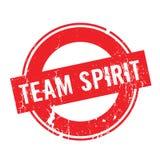 Sello de goma de Team Spirit Imagenes de archivo
