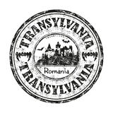 Sello de goma de Transilvania Foto de archivo