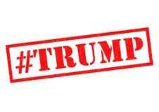 Sello de goma de #TRUMP libre illustration