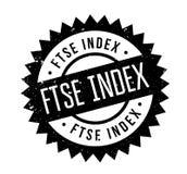 Sello de goma del índice de Ftse ilustración del vector