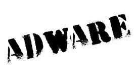 Sello de goma del adware Imagen de archivo
