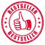 Sello de goma del bestseller stock de ilustración