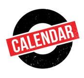 Sello de goma del calendario Imagen de archivo