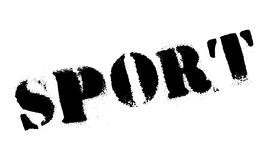 Sello de goma del deporte Imagen de archivo libre de regalías