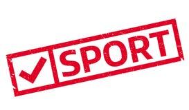 Sello de goma del deporte Imagen de archivo