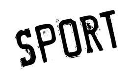 Sello de goma del deporte Imagenes de archivo