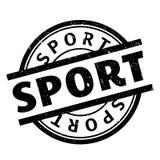 Sello de goma del deporte Foto de archivo