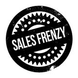 Sello de goma del frenesí de las ventas Imagen de archivo libre de regalías