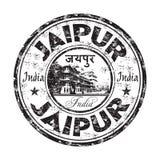 Sello de goma del grunge de Jaipur Foto de archivo libre de regalías