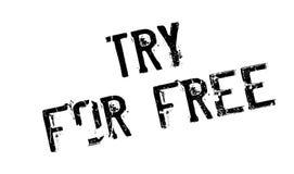 Sello de goma del intento gratis ilustración del vector