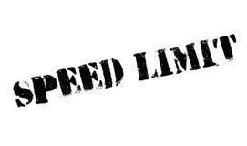 Sello de goma del límite de velocidad libre illustration