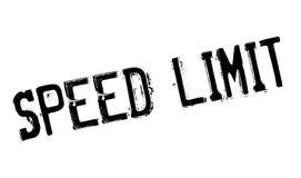Sello de goma del límite de velocidad stock de ilustración