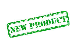 Sello de goma del nuevo producto Imágenes de archivo libres de regalías