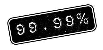 99 sello de goma del 99 por ciento Imagenes de archivo
